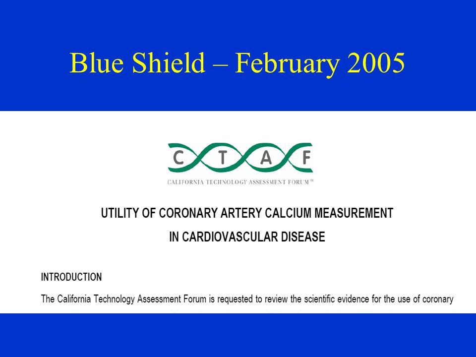Blue Shield – February 2005
