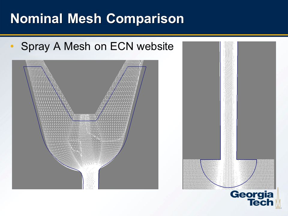 23 Nominal Mesh Comparison Spray A Mesh on ECN website