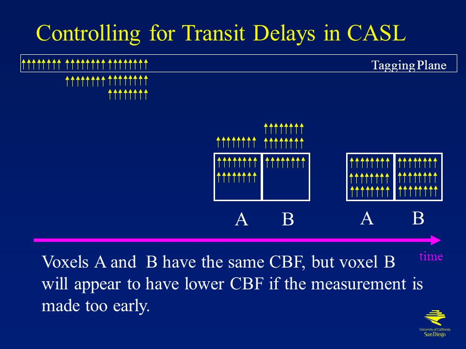 Transit Delays ~ 1 cm ∆t < 700ms ~ 3 cm ∆t < 1000ms CASL PASL