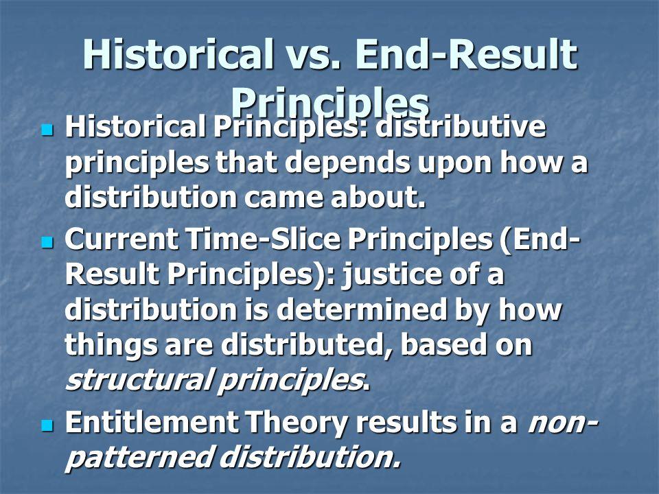 Historical vs.