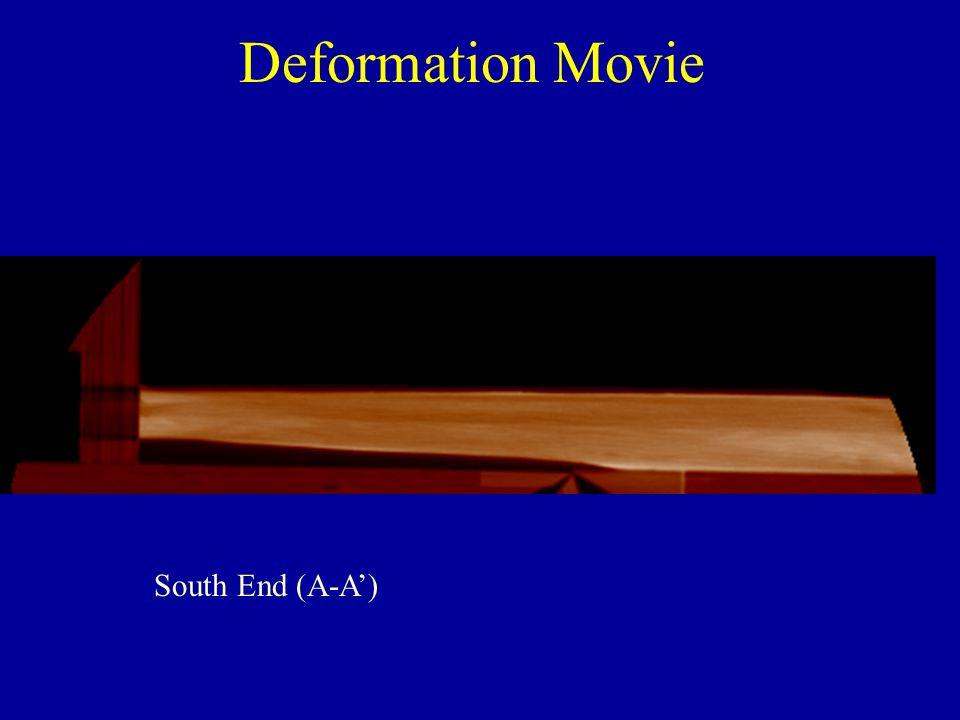 Deformation Movie South End (A-A')