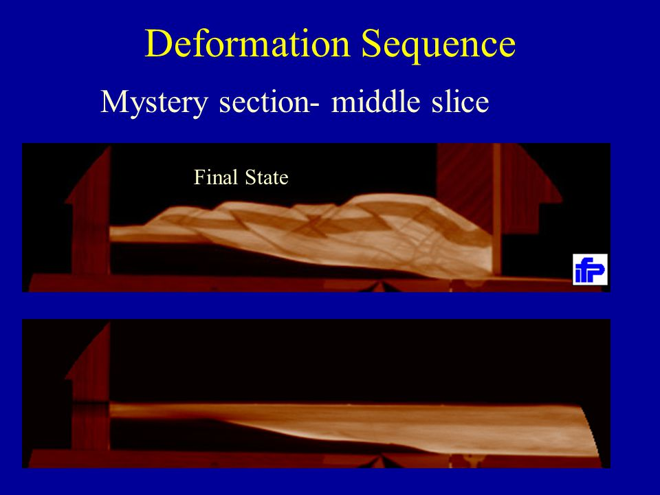 Deformation Sequence Final State Mystery section- middle slice