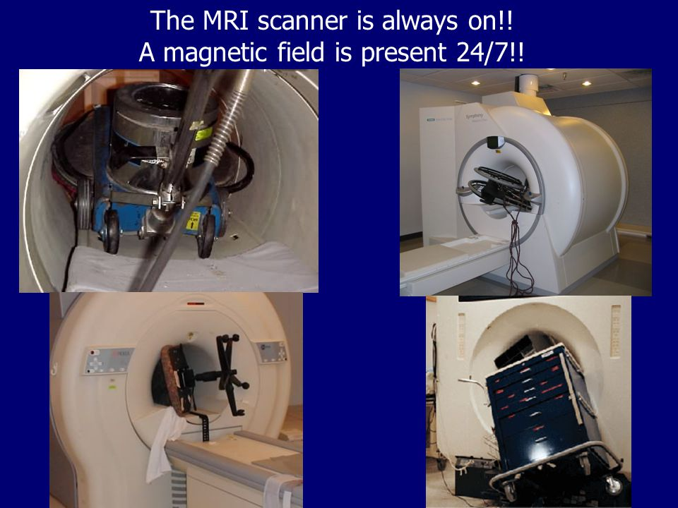 Basic MRI Hardware Block Diagram How many of you have had an MRI? What's it like?