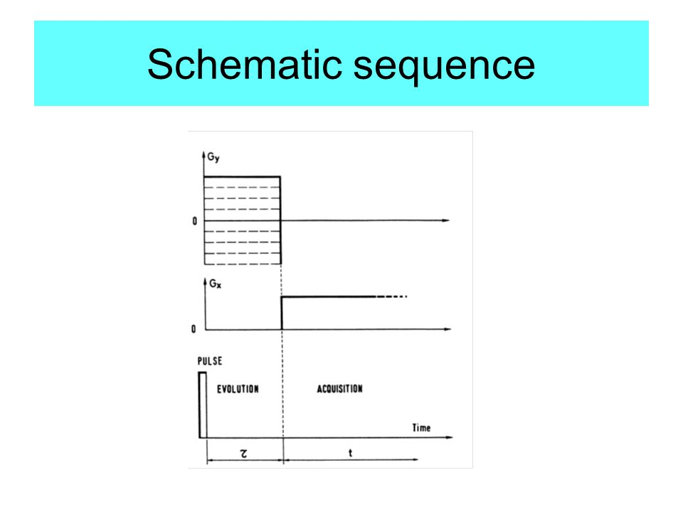 Schematic sequence
