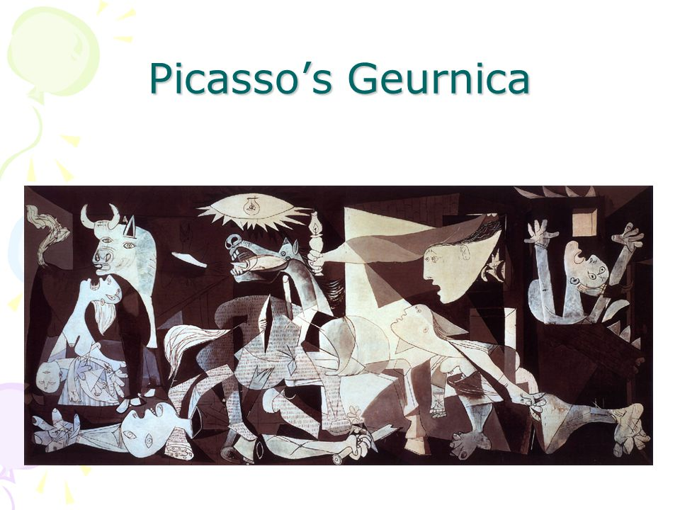 Picasso's Geurnica