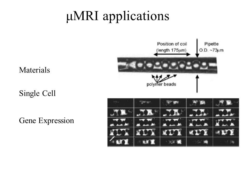 μMRI applications Single Cell Gene Expression Materials