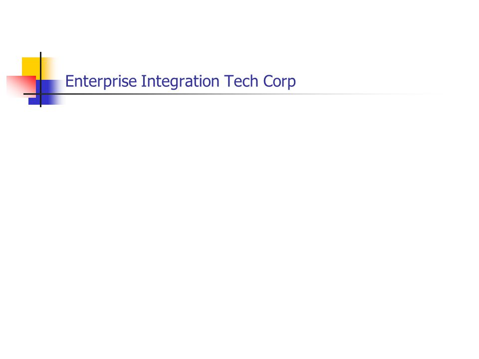 Enterprise Integration Tech Corp