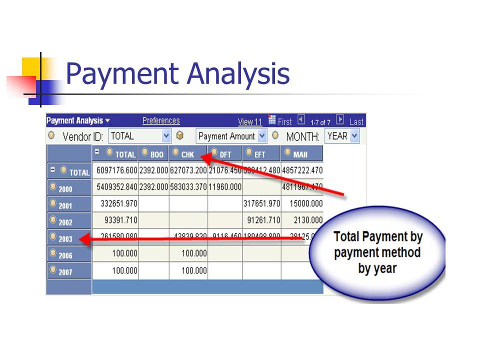 Payment Analysis