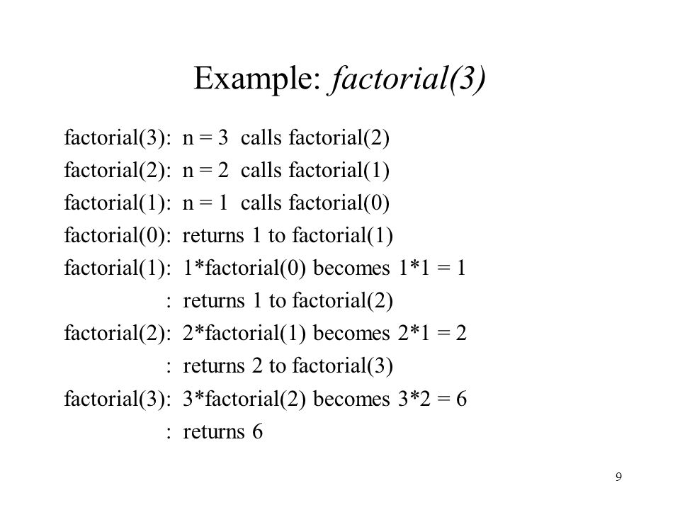 50 Search an Array: C++ Implementation int binarySearch( int A[ ], int v, int first, int last ) { if( first > last ) return -1;// v not found in A[ ] int mid = (first + last)/2;// set mid to midpoint if( v == A[mid] ) return mid; if( v < A[mid] ) return binarySearch( A, v, first, mid-1 ); return binarySearch( A, v, mid+1, last ); }