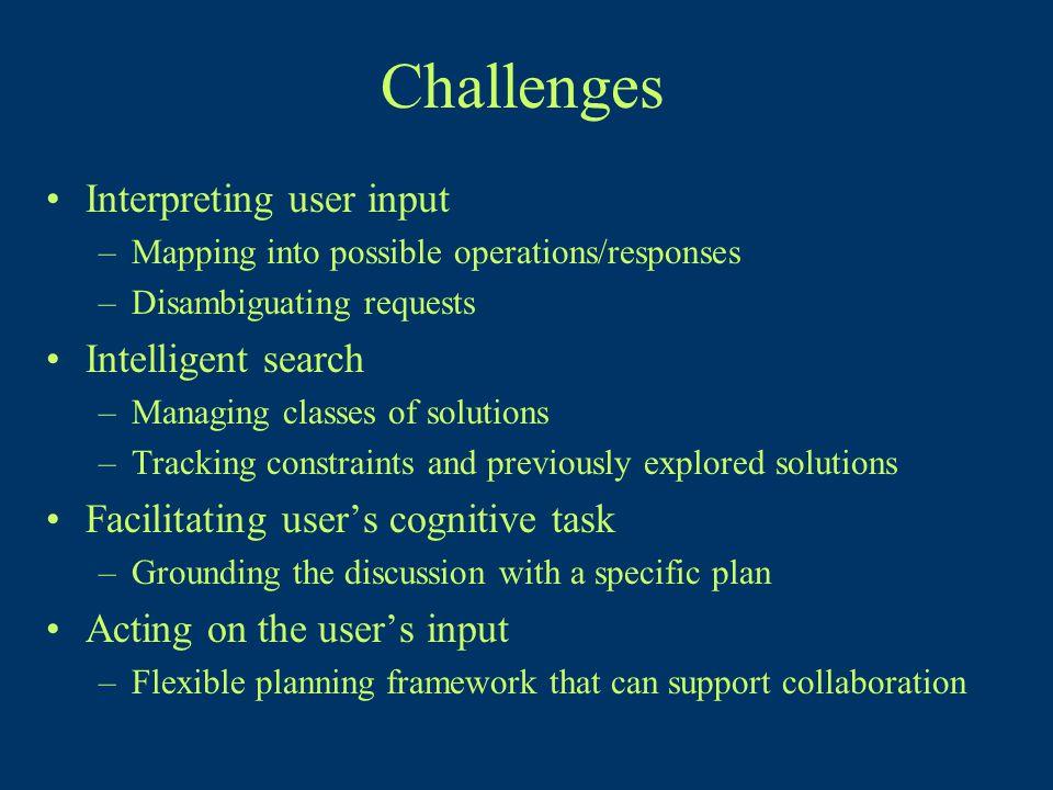 TRIPS: Collaborative Planning Dialogue [Allen and Ferguson 02]