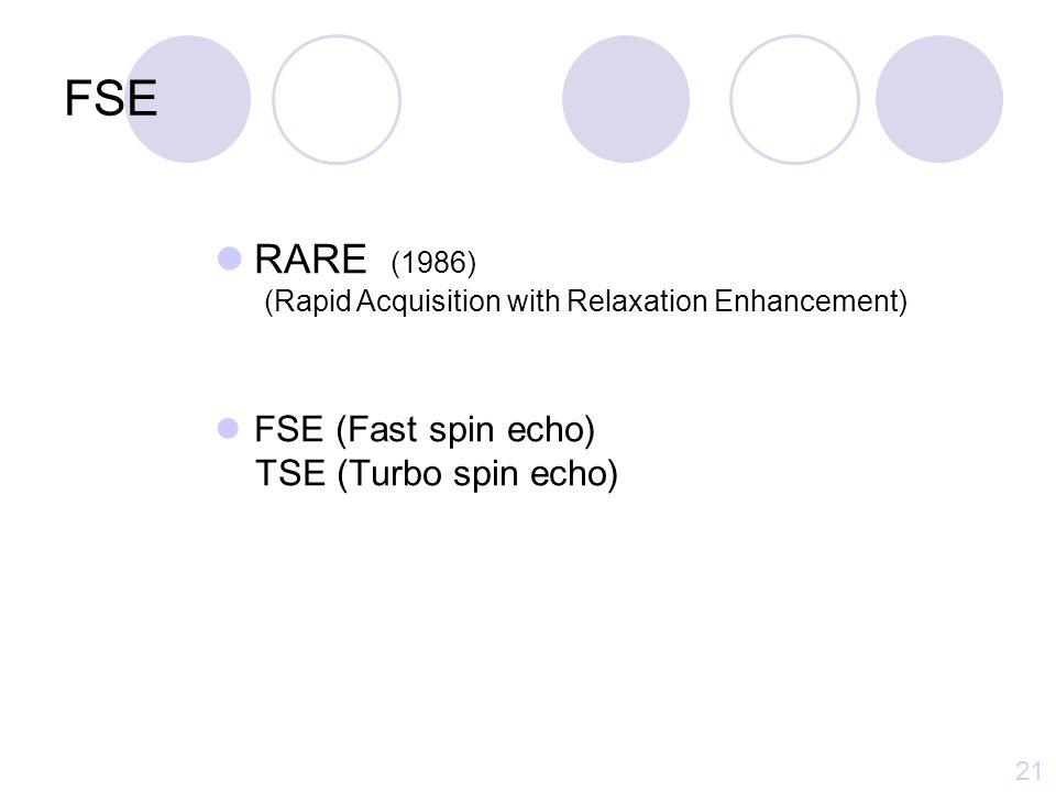 FSE Spin echo 의 특성 : Image quality ↑, Artifact ↓ Fast scan Long TR (Multiple RF pulse, Slice number) - T2 강조 Conventional SEFast SE 1 NEX4 NEX 20 9 min 28 sec2 min 25 sec