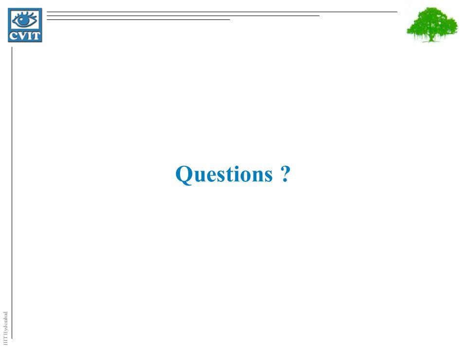 IIIT Hyderabad Questions