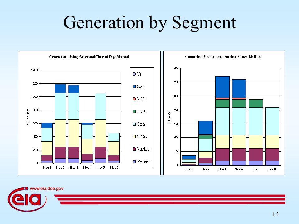 14 Generation by Segment