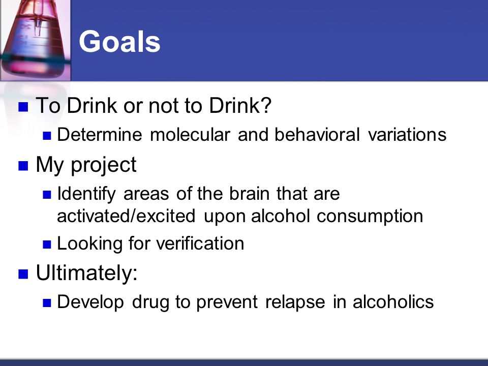 Alcoholism Seeking alcohol despite negative effects In the work place Socially and personally Excessive intake of alcohol Altered Brain Reward Pathway Allostasis versus Homeostasis http://aboutalcoholism.biz/drunk.jpg