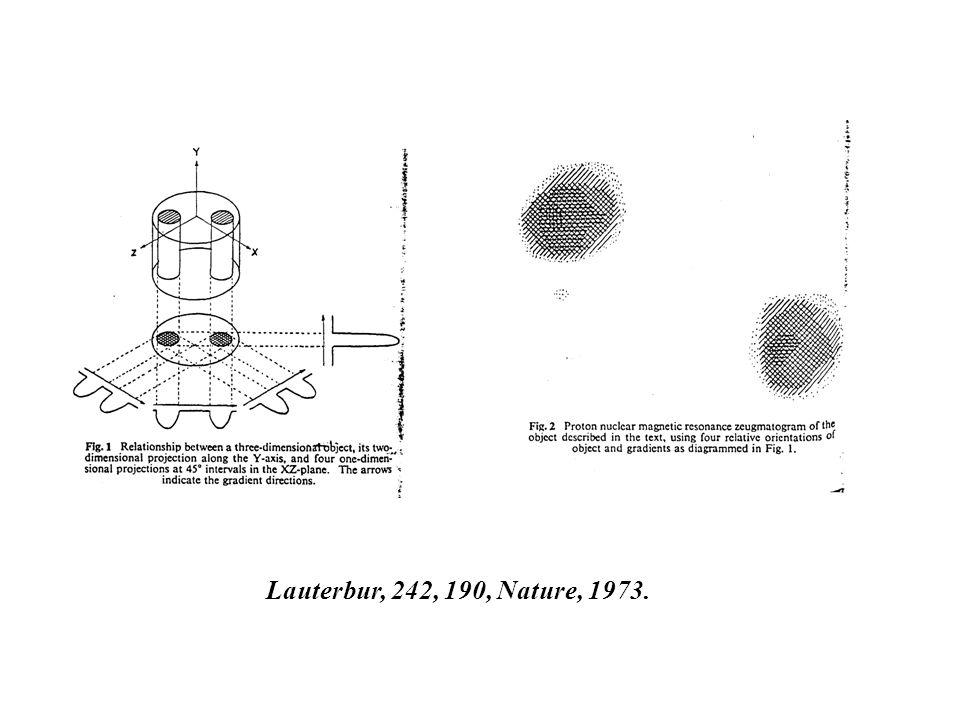 Lauterbur, 242, 190, Nature, 1973.