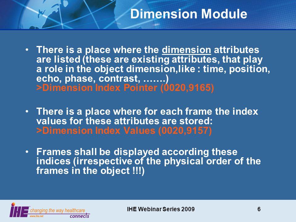 IHE Webinar Series 200917 SOP Instance Content b=0 b x >0, direction 1, slice y b x >0, direction.., slice y b x >0, direction n………….
