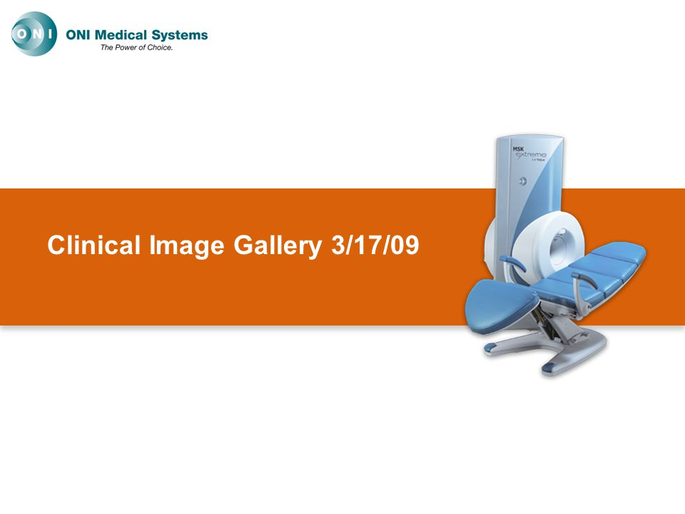 Clinical Image Gallery 3/17/09