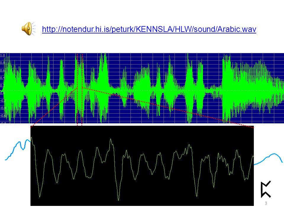 http://notendur.hi.is/peturk/KENNSLA/HLW/sound/Arabic.wav 3