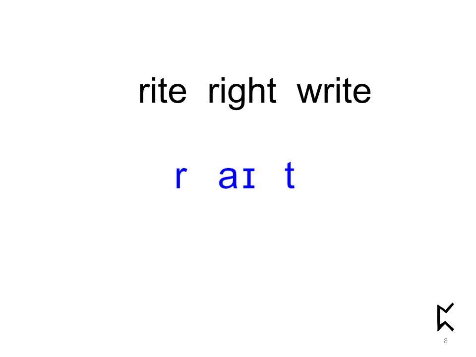 rite right write 8
