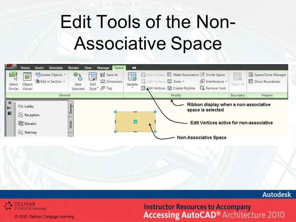 Edit Tools of the Non- Associative Space