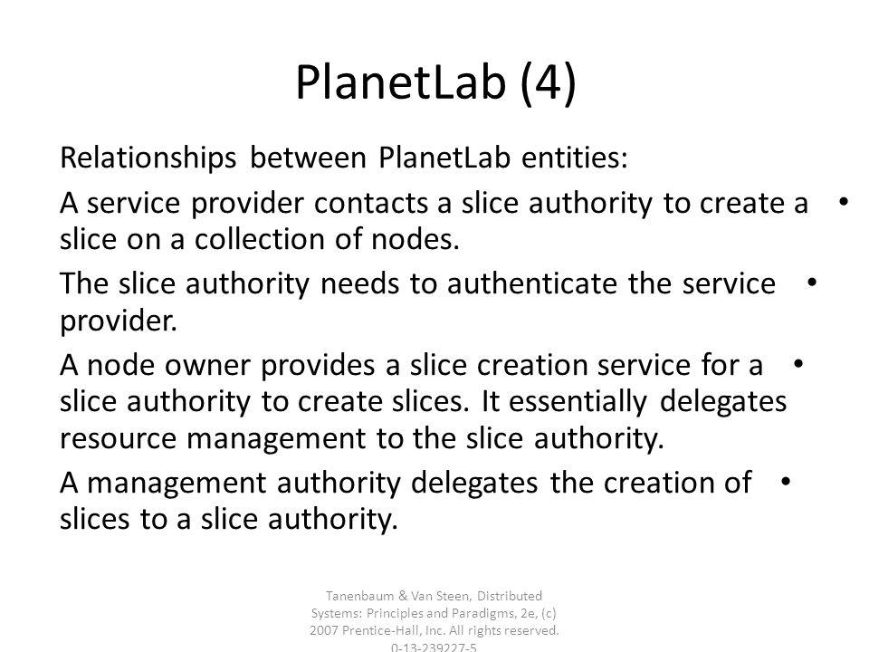 Tanenbaum & Van Steen, Distributed Systems: Principles and Paradigms, 2e, (c) 2007 Prentice-Hall, Inc.