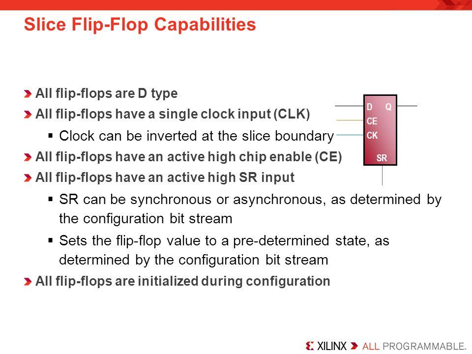 7 Series Slice Flip-Flops Part 2