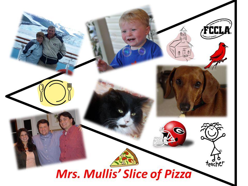 Mrs. Mullis' Slice of Pizza