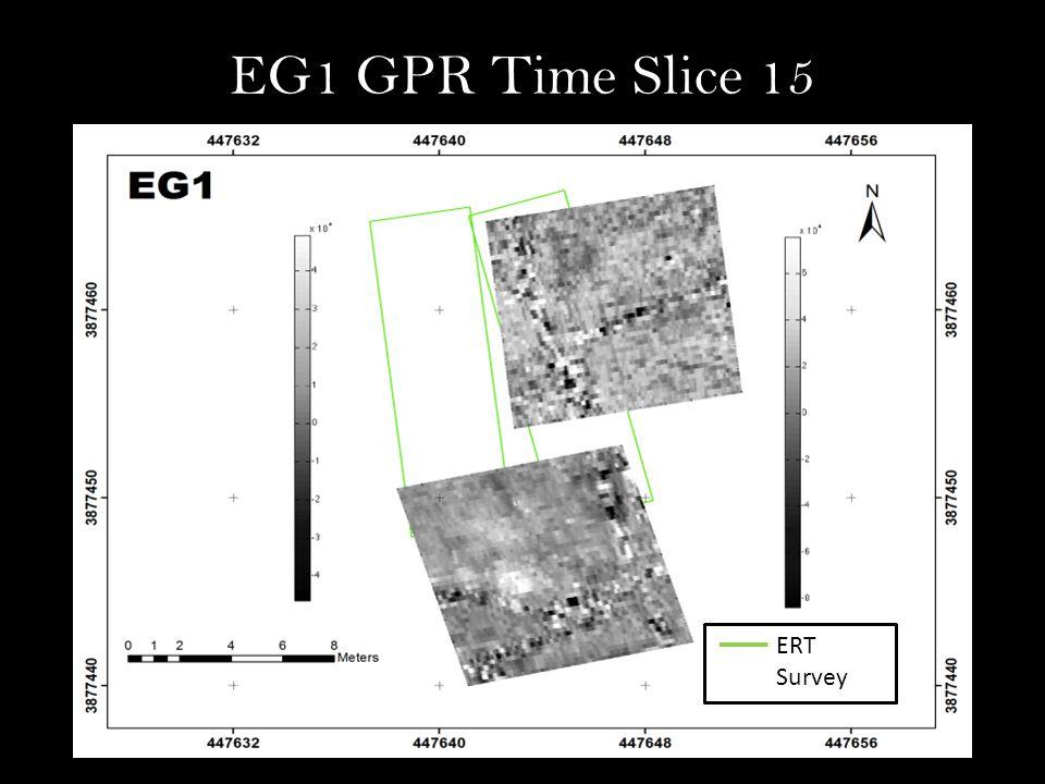 EG1 GPR Time Slice 15 ERT Survey