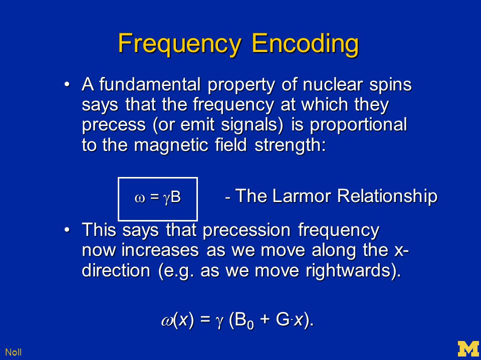 Noll SENSE Imaging – An Example Full Fourier Encoding Volume Coil Pixel A Pixel B Full Fourier Encoding Array Coil S 1A A S 1B B S 3A A S 3B B S 2A A S 2B B S 4A A S 4B B Unknown Pixel Values A & B Known Sensitivity Info S 1A, S 1B,…