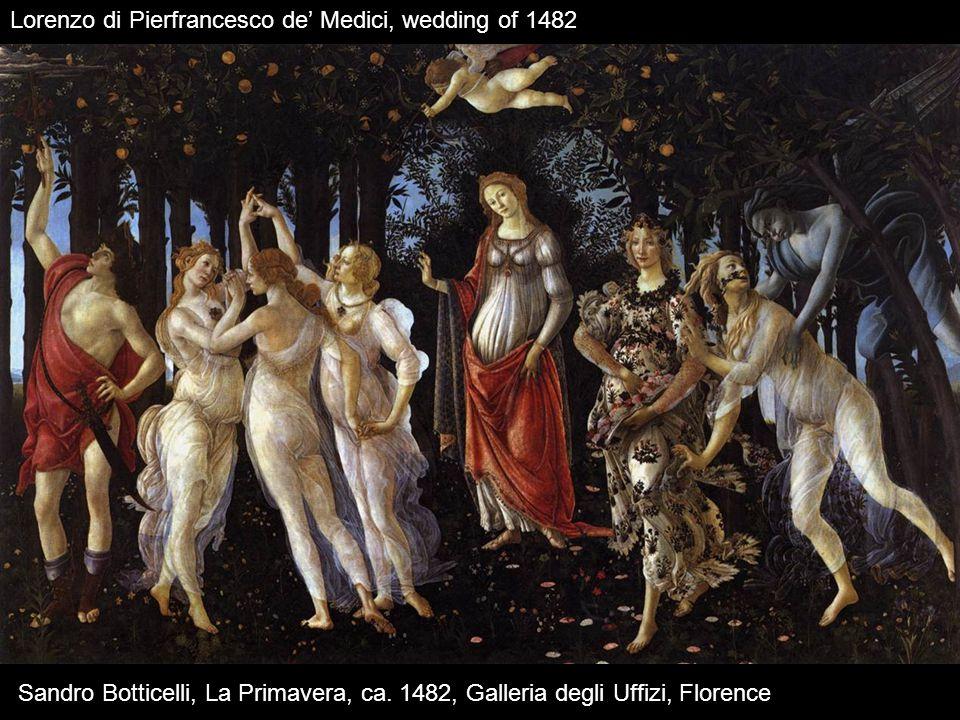 Sandro Botticelli, La Primavera, ca.