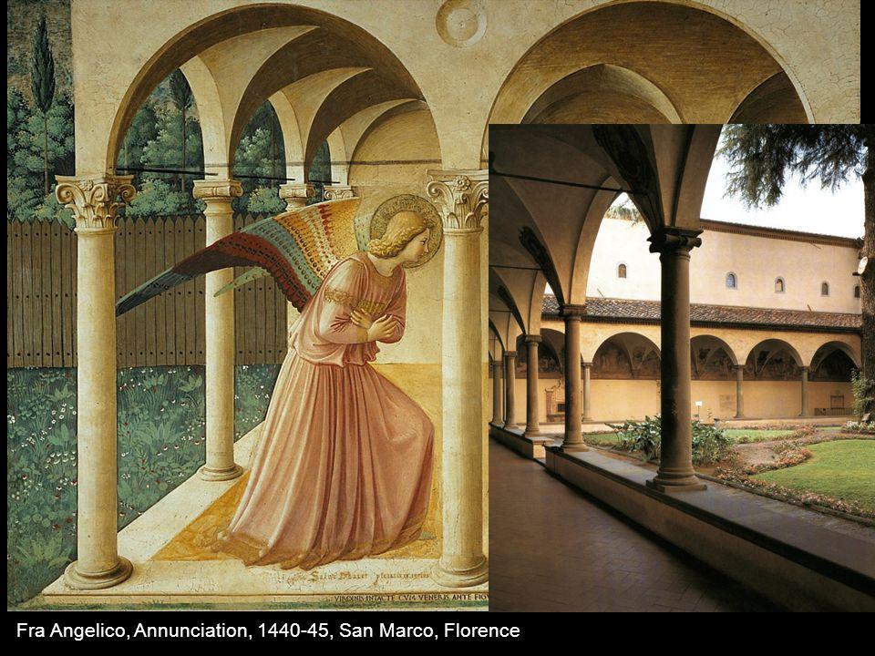 Fra Angelico, Annunciation, 1440-45, San Marco, Florence De modo orandi, 13 th century