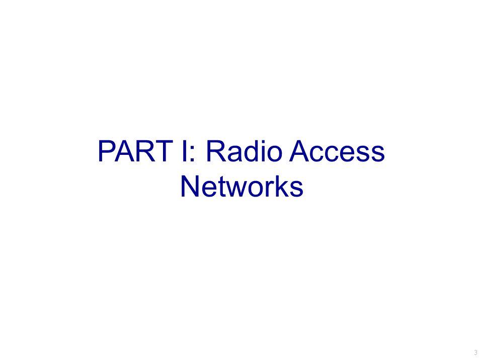 LTE Cellular Network Architecture access core Packet Data Network Gateway Serving Gateway Internet Serving Gateway Base Station (BS) User Equipment (UE) 14