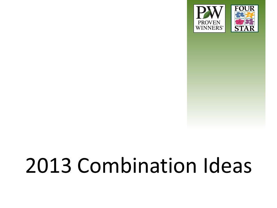 2013 Combination Ideas