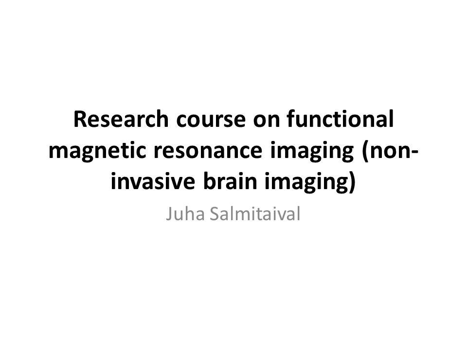 MRI image Voxel (pixel in 3d) – Slice thickness x FOV/matrix x FOV/matrix (in- plane resolution) Volume (sample) – E.g., 30 x 64 x 64 4d image (typically > 100 MB, < 2 GB) Formats: dicom, analyze, nifti, nifti gz