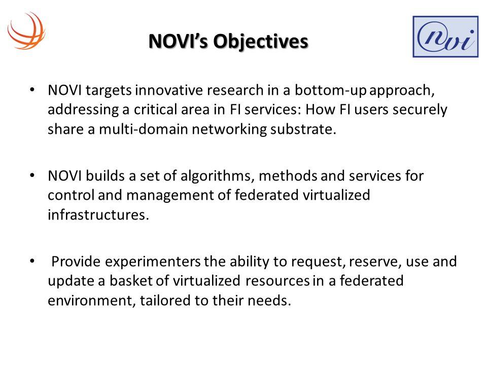 Innovative NOVI Services (4/4) Policy Service – Policy based management system / Ponder2 policy framework.