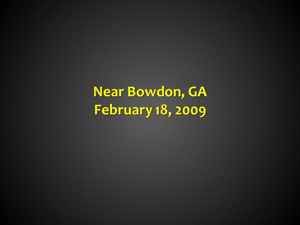 Near Bowdon, GA February 18, 2009