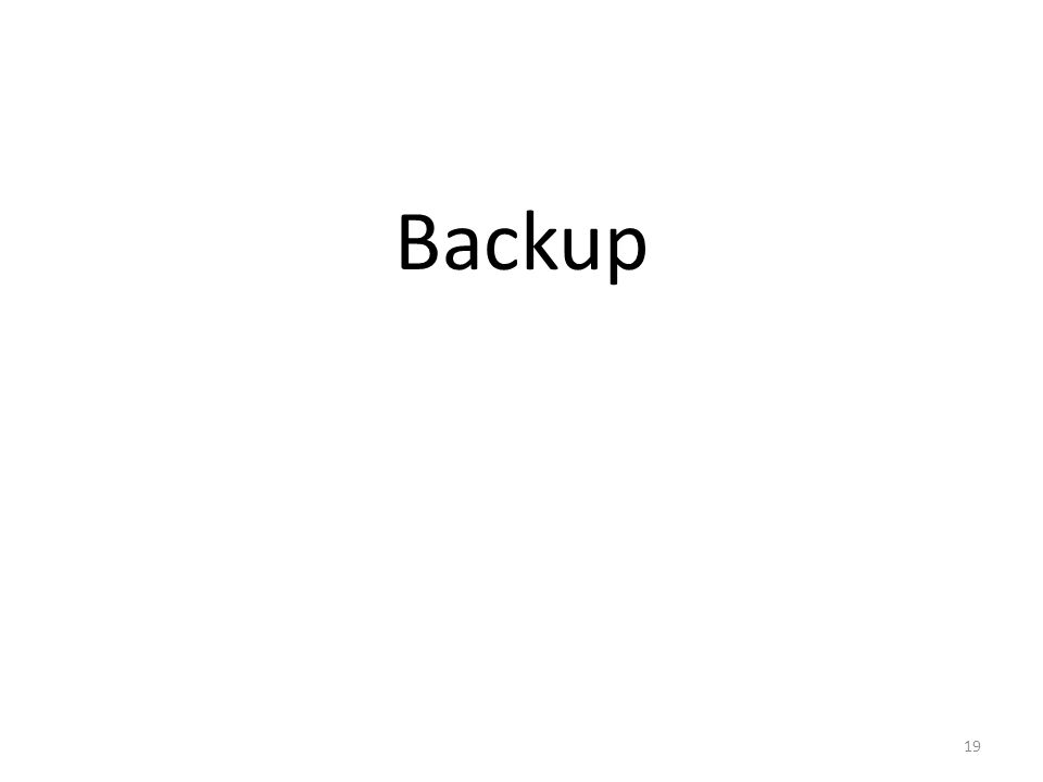 Backup 19