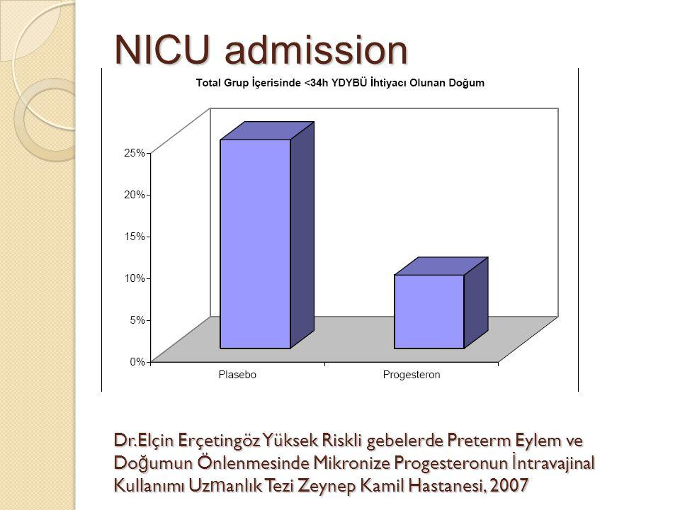 NICU admission