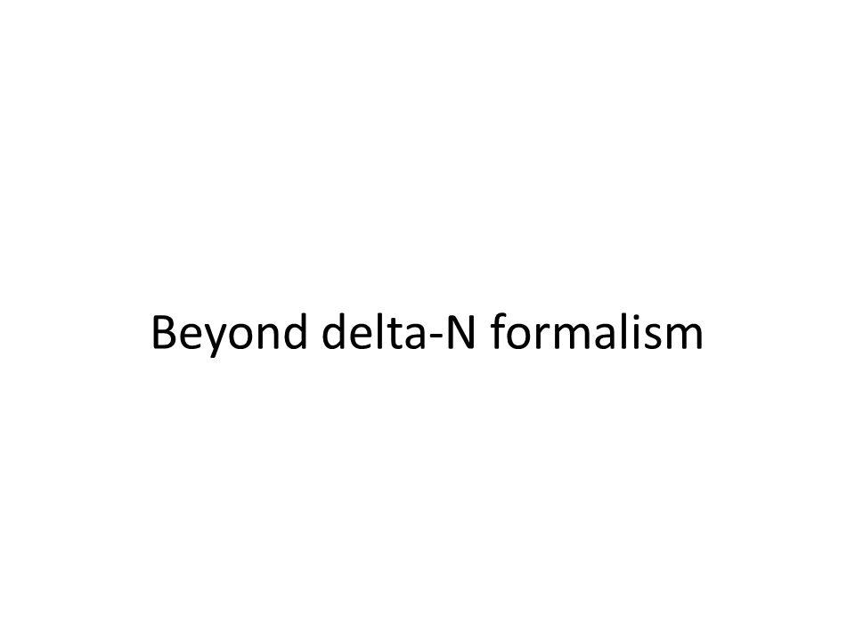 Beyond delta-N formalism