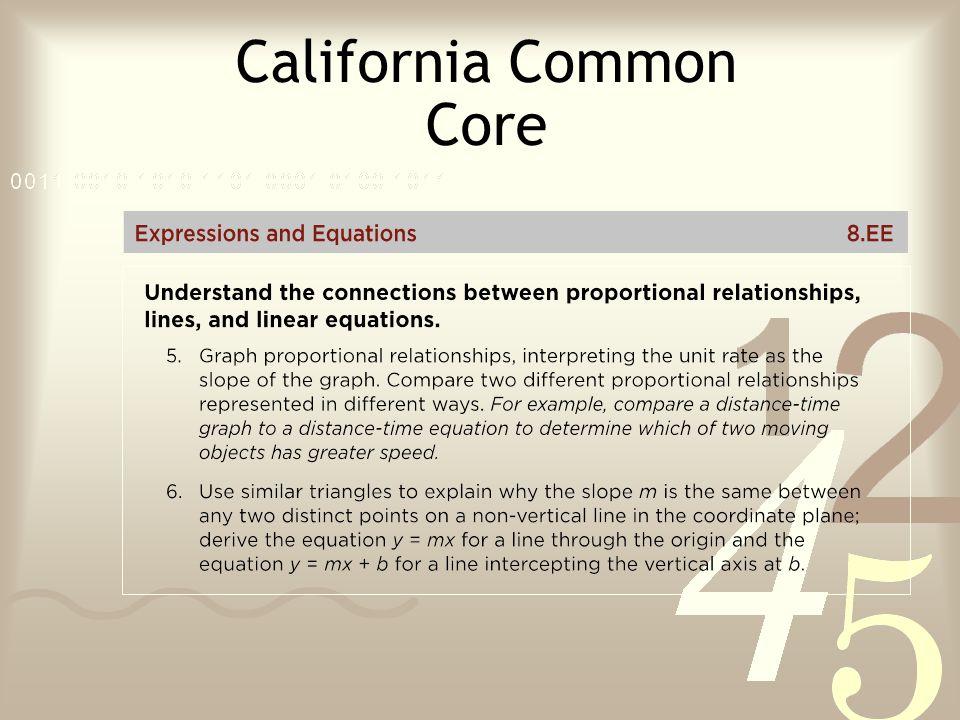 California Common Core