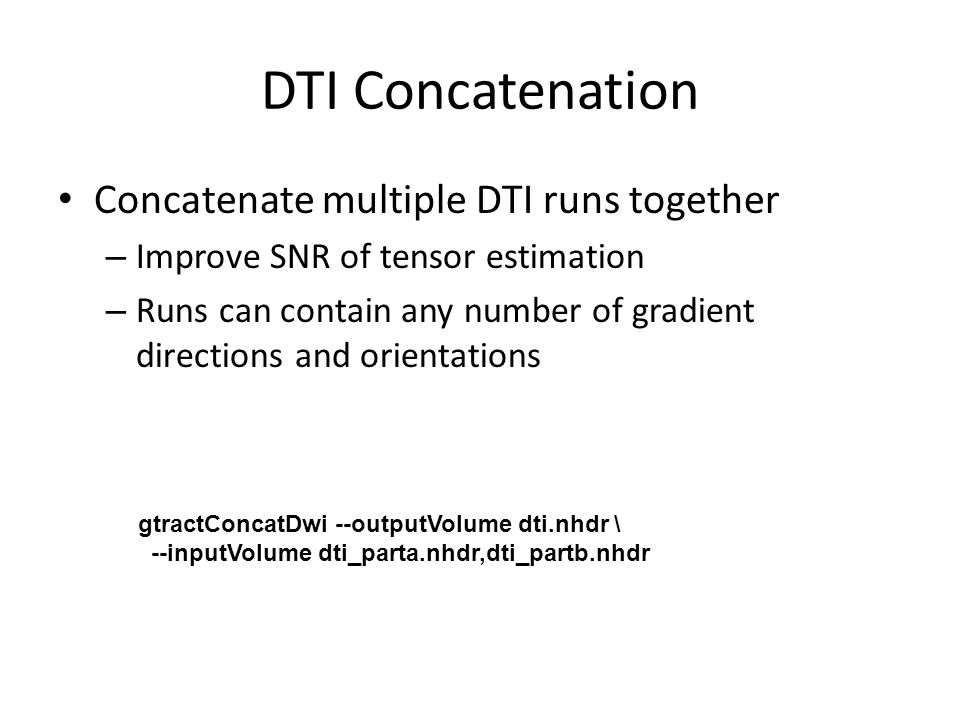 Fiber Tracking - Introduction Base on the directional information provided by DTI, fiber tracking can be used to explore the underlying white matter fiber structure non- invasively