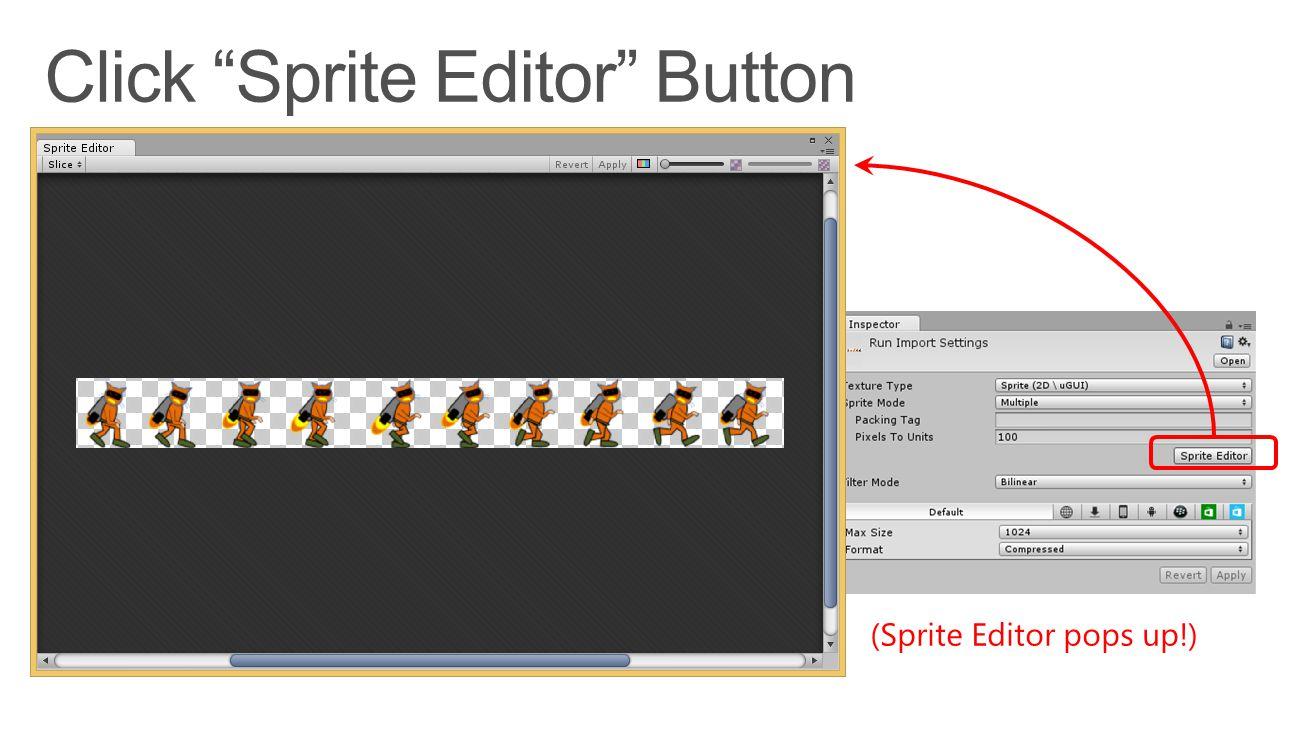 (Sprite Editor pops up!)