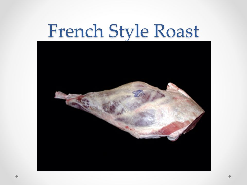 French Style Roast
