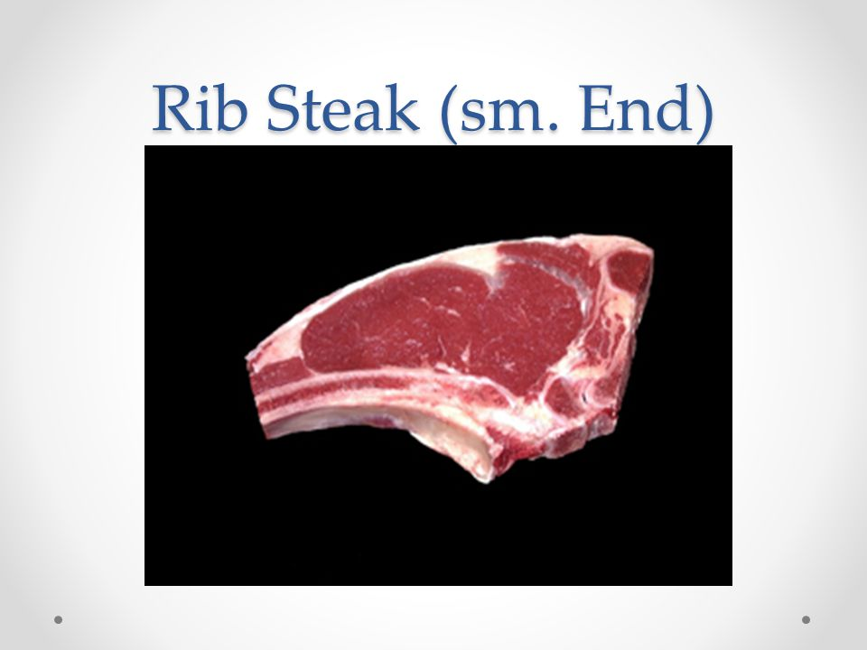 Rib Steak (sm. End)