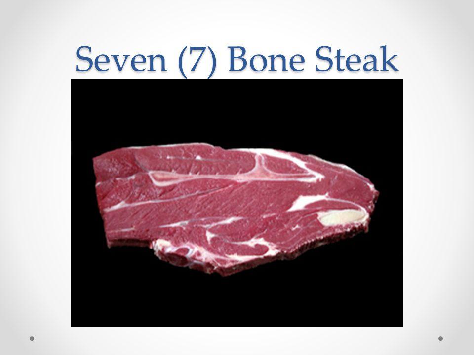 Seven (7) Bone Steak