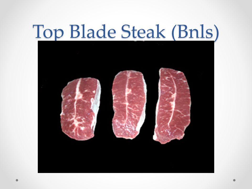 Top Blade Steak (Bnls)