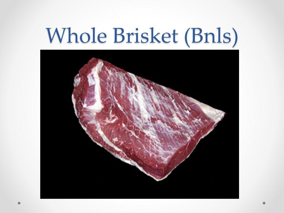 Whole Brisket (Bnls)