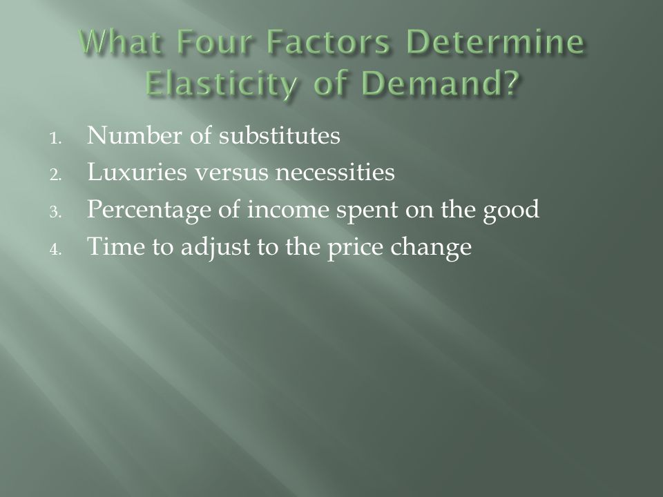  Unit-elastic means the % they increase the price is exactly equal to the % demand drops  trailer trailer PriceQuantity sold % change Qd % change price Total Revenue July102002000 August151001500