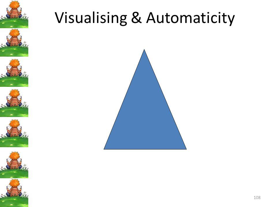 108 Visualising & Automaticity