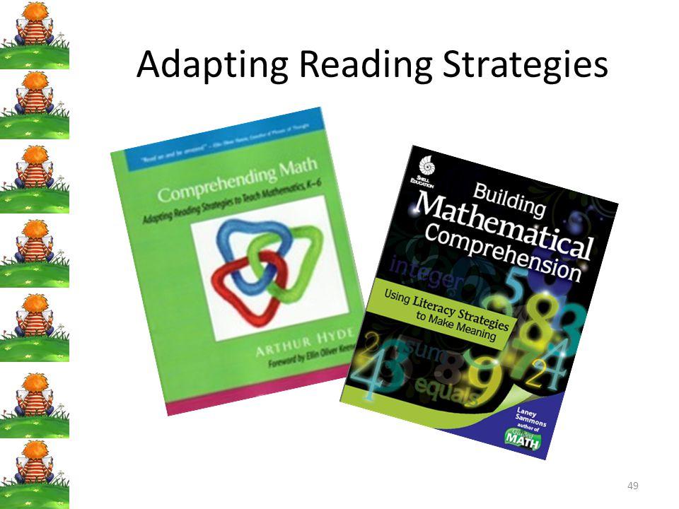 49 Adapting Reading Strategies